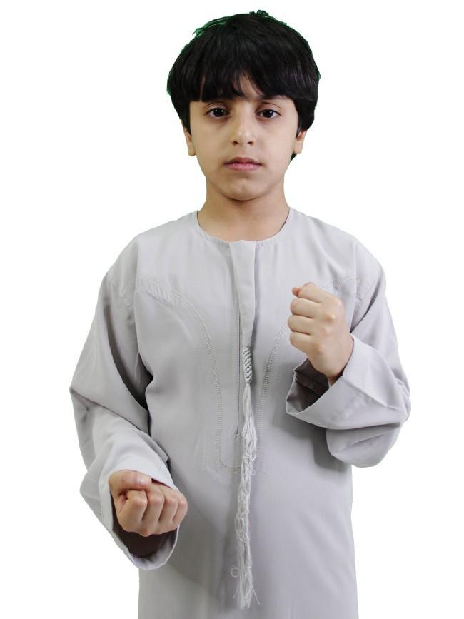 ثوب بوليسترعماني شبابي ملون