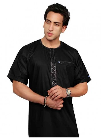 Half Sleeve Embroidered Thoube