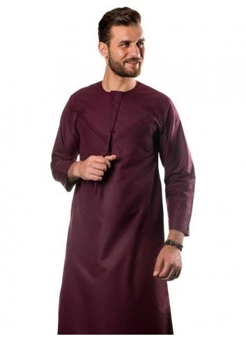 ثوب اماراتي مخصر - ملون