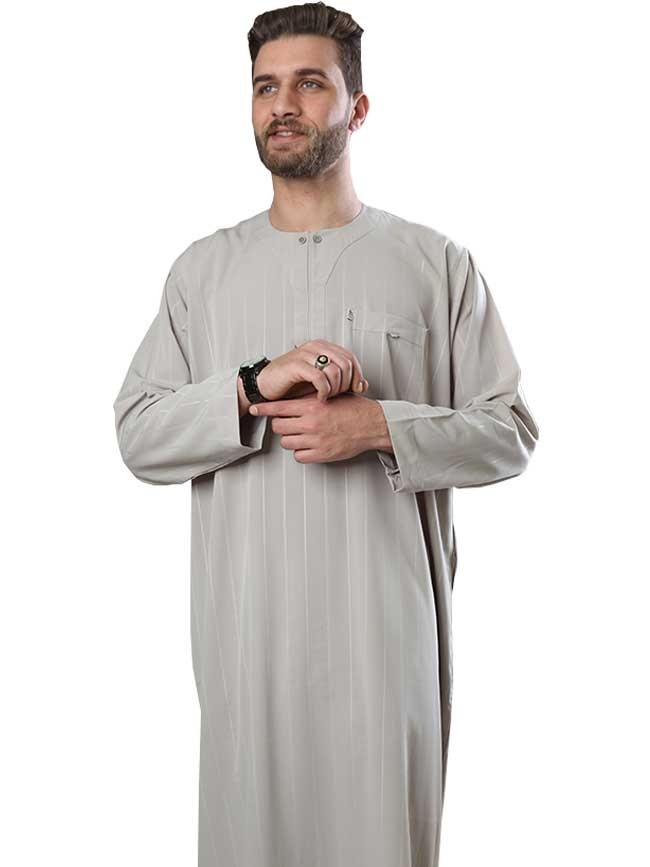 Long sleeve Normal thobe-color