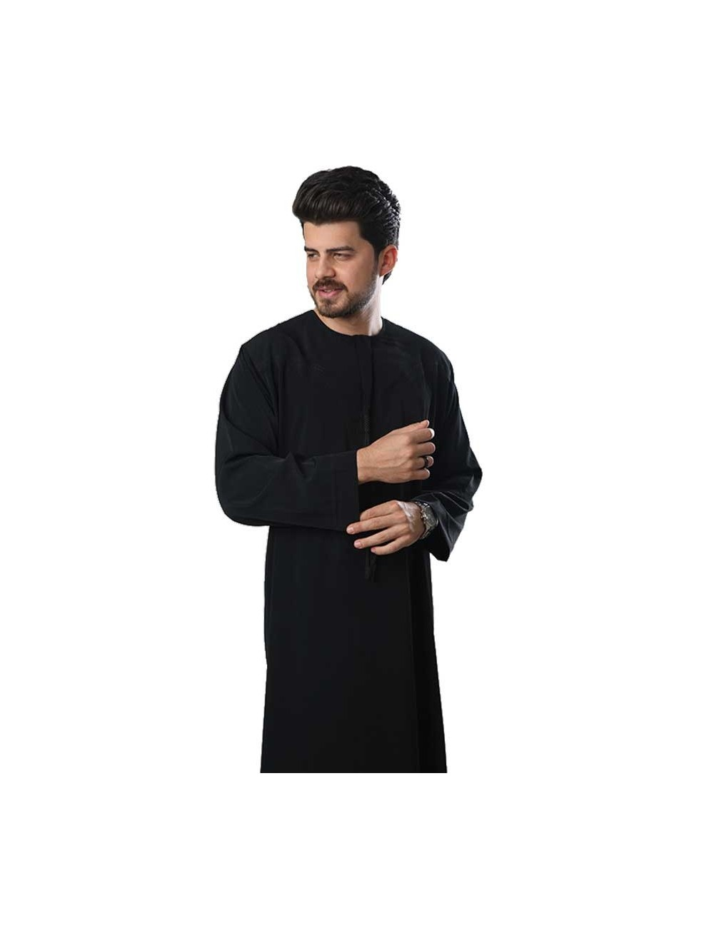 Polister Omani Thoub - black