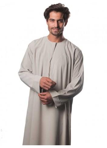 ثوب بوليسترعماني ملون